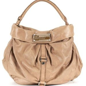 Marc by Marc Jacobs beige hobo bag